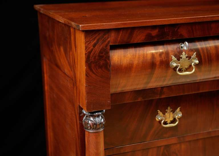 Neoclassical Federal Chest Of Drawers From Philadelphia American Circa 1815 For Sale At 1stdibs