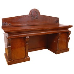 French Charles X Sideboard in Mahogany, circa 1825