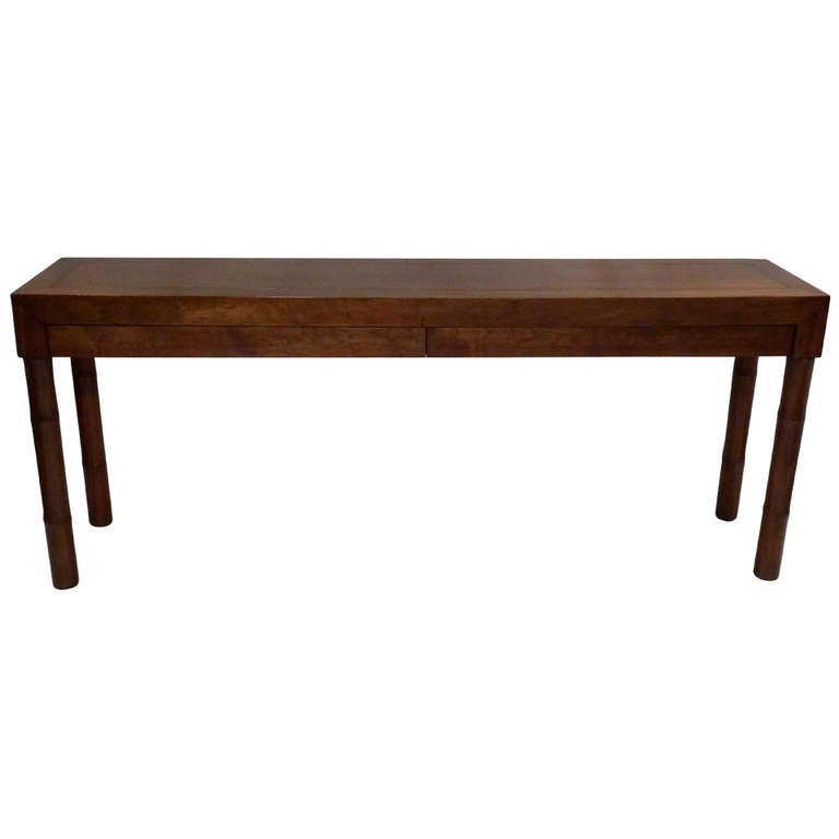 Modern asian style console table at stdibs