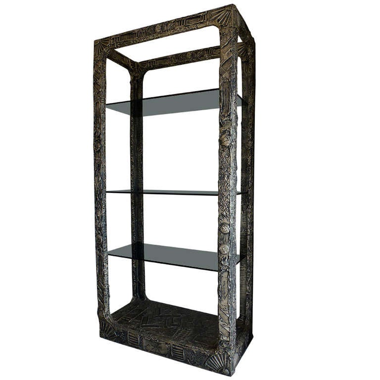 Brutalist etagere by adrian pearsall at 1stdibs - Etagere cases carrees ...
