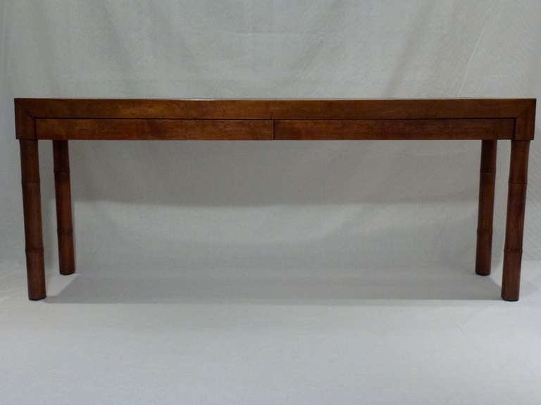 Modern asian style console table for sale at stdibs