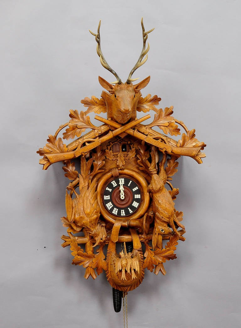 Black forest mantel clocks motorcycle review and galleries - Motorcycle cuckoo clock ...