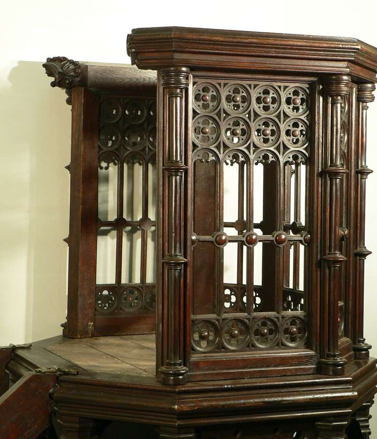 Neogothic Chapel Pulpit England Circa 1930 For Sale At