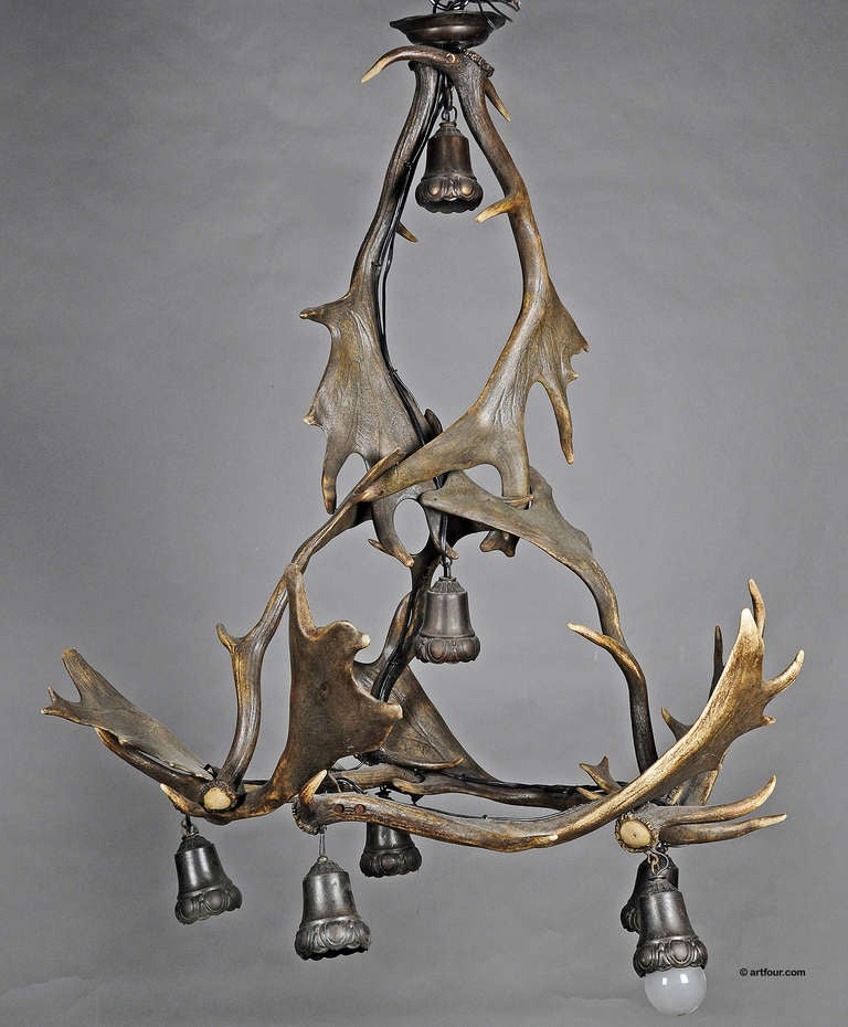 Deer Antler Light Fittings