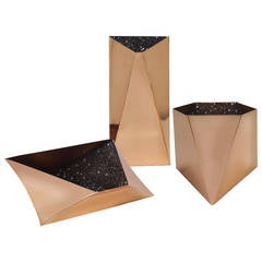 'Star' Collection Set of Three Vessels or Vases by David Adjaye