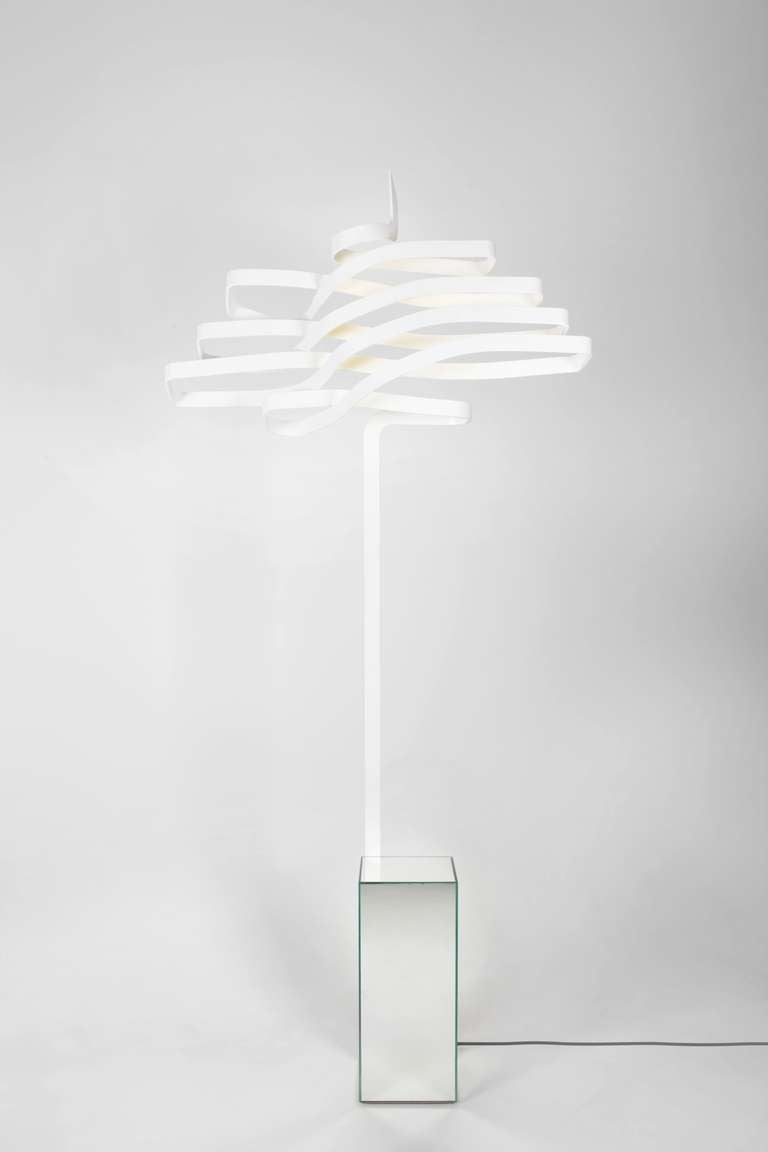French 'Cedar' Floor Lamp a Tribute to the Tree Symbol of Lebanon For Sale