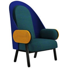 'Moon I - D', a Contemporary Armchair with a Vintage Twist