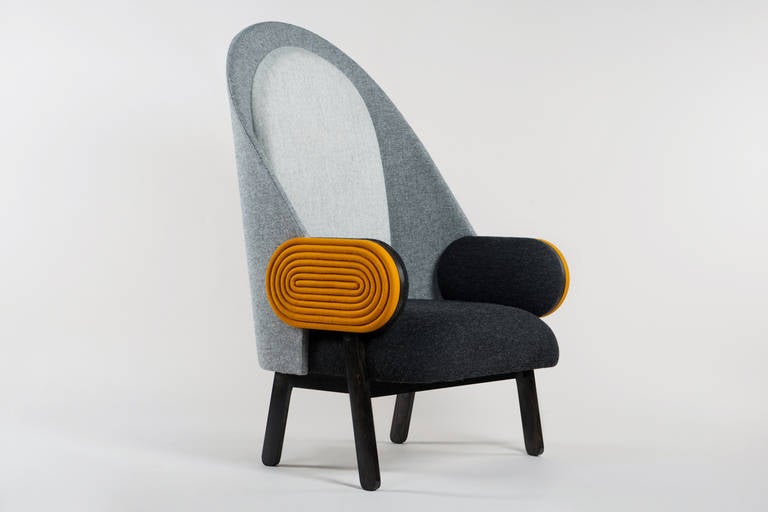 By French Lebanese Designer Charles Kalpakian, U0027Moonu0027 Is A Contemporary  Armchair With A