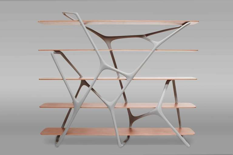 'Naturoscopie I,' Organic Bookcase and Room Divider by Noé Duchaufour-Lawrance 3