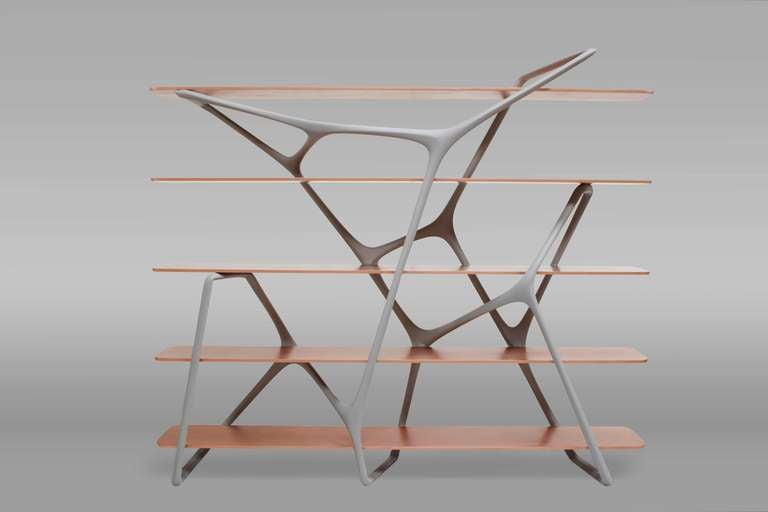 'Naturoscopie I,' Organic Bookcase and Room Divider by Noé Duchaufour-Lawrance 2