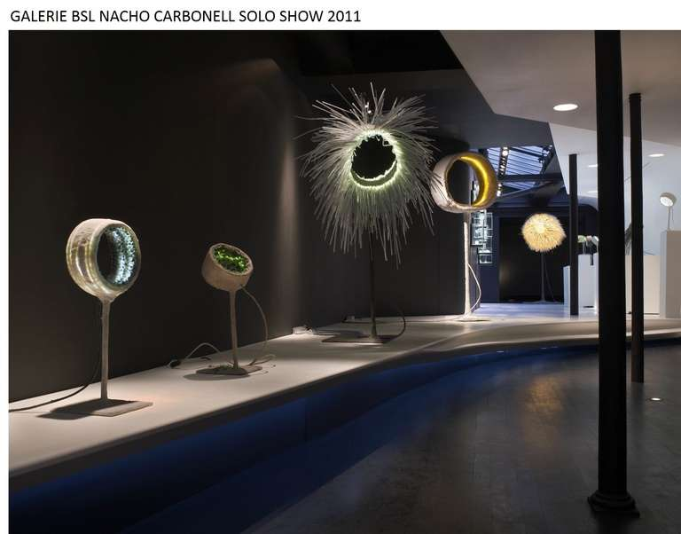 Yellow and Brown 'Luciferase' by Nacho Carbonell  In New Condition In Paris, FR