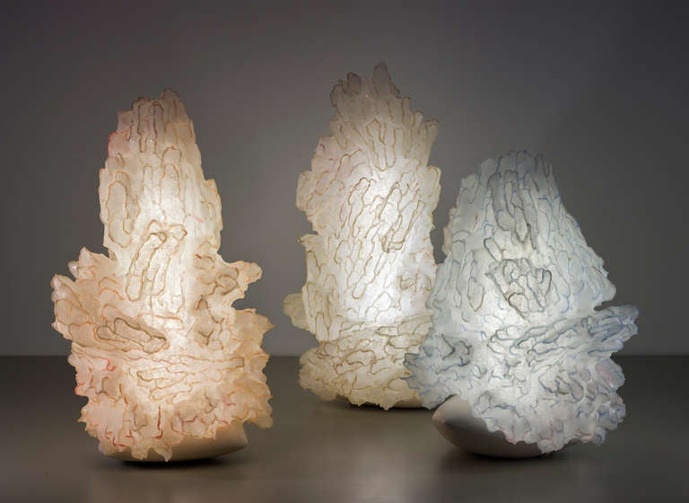 Israeli 'Soma the Rest at Sunset' Handmade Light Sculpture by Ayala Serfaty For Sale