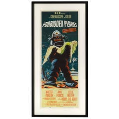 """Forbidden Planet"" Original US Movie Poster"