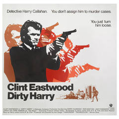 """Dirty Harry,"" Film Poster"