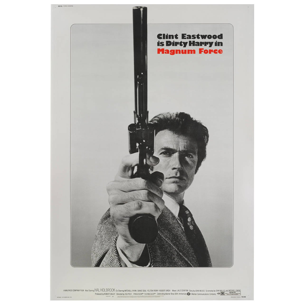 """Magnum Force,"" Film Poster"