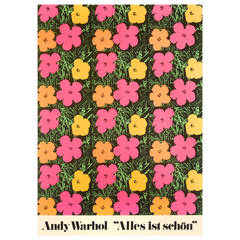 """Flesh"" or ""Alles ist Schon,"" Film Poster by Andy Warhol"