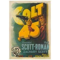 """""""Colt .45,"""" Film Poster"""