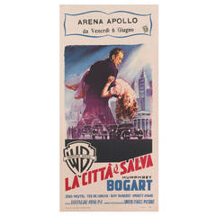 The Enforcer / La Citta e Salva Original Italian Movie Poster