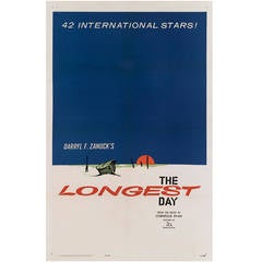 """The Longest Day,"" Original US Film Poster"