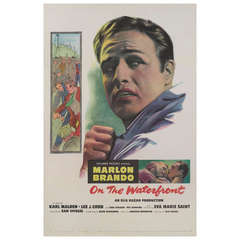 """""""On the Waterfront,"""" Film Poster"""