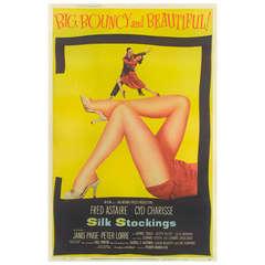 """Silk Stockings,"" Film Poster"