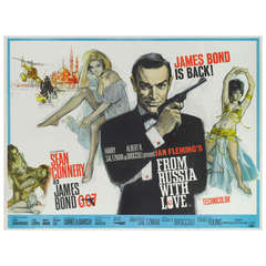 """""""From Russia with Love"""" Film Poster"""