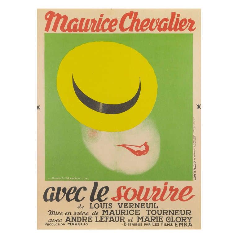 Avec le Sourire Poster- Film Poster