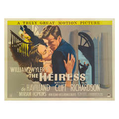 The Heiress Poster- Film Poster