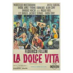 La Dolce Vita Poster- Film Poster