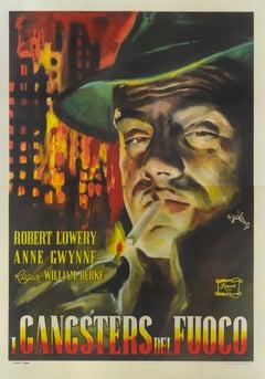 """""""I Gangsters del Fuoco"""" Original Italian Film Poster"""