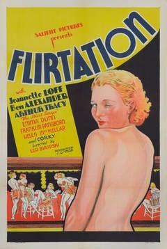 """""""Flirtation"""" Original US Film Poster"""
