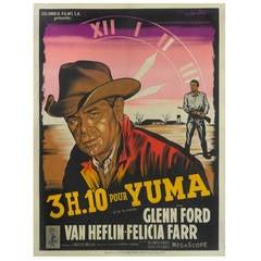 """""""3H.10 Pour Yuma"""" Original French Film Poster"""