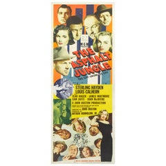 """The Asphalt Jungle,"" Original US Film Poster"