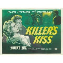 """Film Poster for, """"Killer's Kiss"""""""