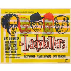 "Film Poster for, ""The Ladykillers"""