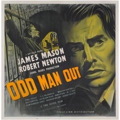 """Film Poster for, """"Odd Man Out"""""""