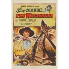 "Film Poster for, ""The Westerner"""