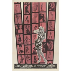 """""""The Bellboy And The Playgirls,"""" Original US Movie Poster"""