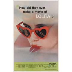"""Lolita,"" Original US Movie Poster"