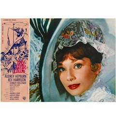 """My Fair Lady"" Original Italian Movie Poster"