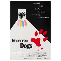"""Reservoir Dogs,"" Original US Movie Poster"