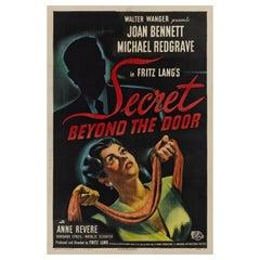 """""""Secret Beyond The Door,"""" Original Movie Poster"""