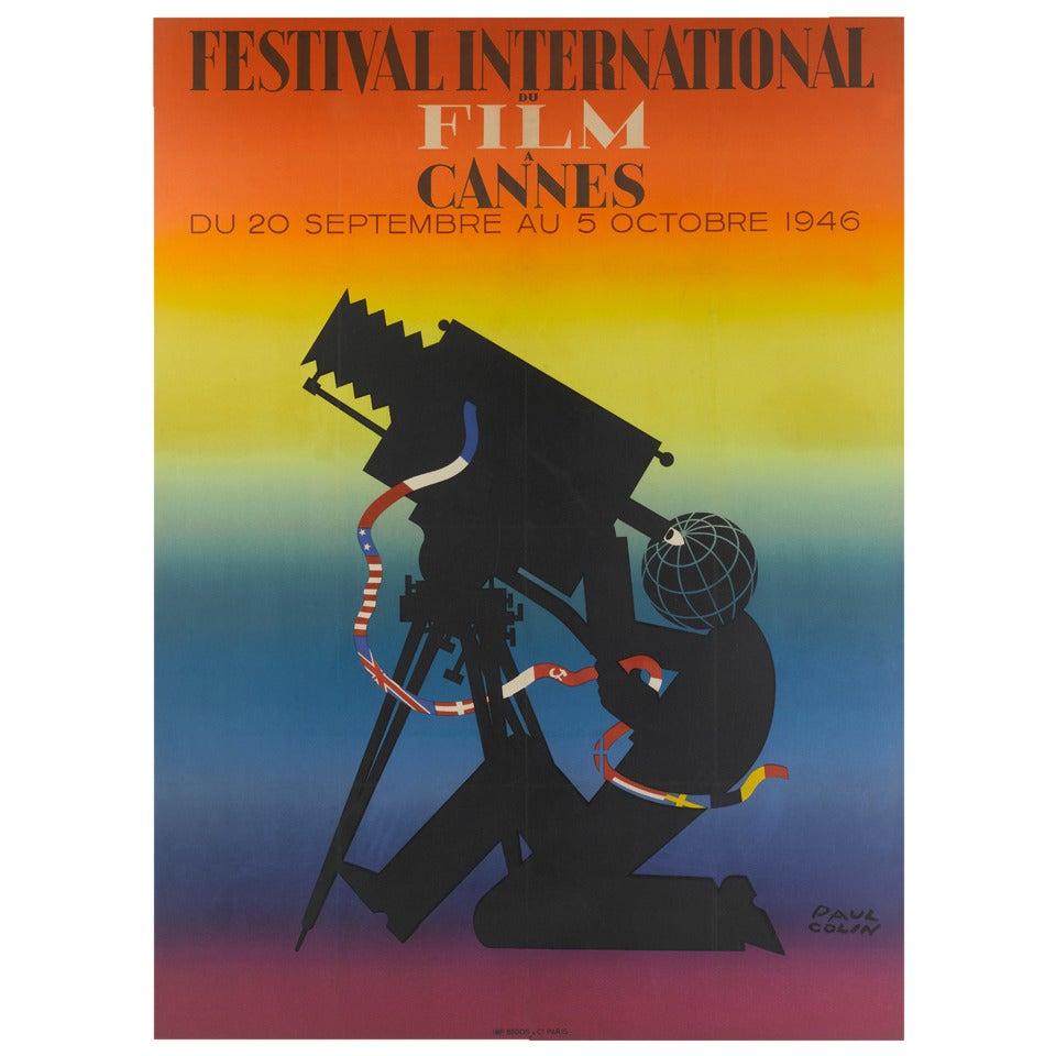 Festival International du Film à Cannes Poster