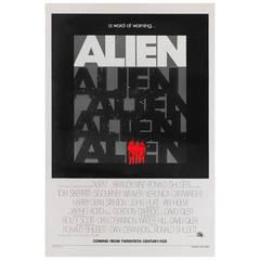 """""""Alien,"""" Film Poster"""