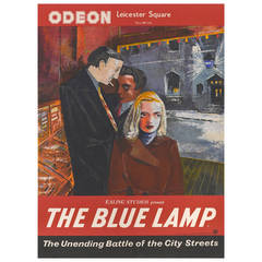 """""""The Blue Lamp,"""" Poster"""