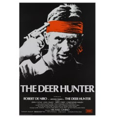 """The Deer Hunter"" Original British Film Poster"