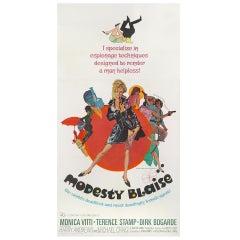 """Modesty Blaise,"" Film Poster"