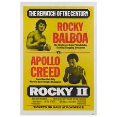 """Rocky II,"" Film Poster"