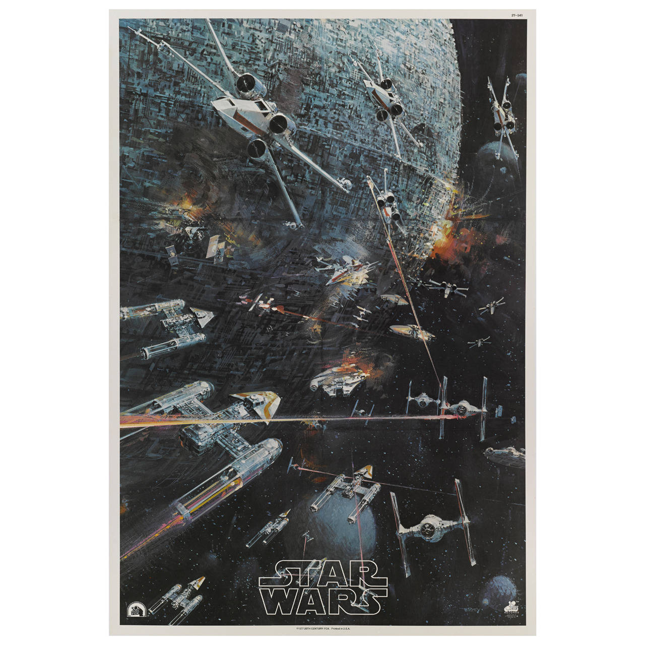 quotstar warsquot original us movie poster at 1stdibs