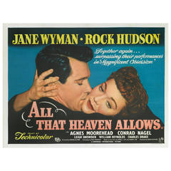 """""""All That Heaven Allows,"""" Film Poster"""